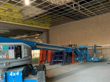 commercial ceiling installation Chicago