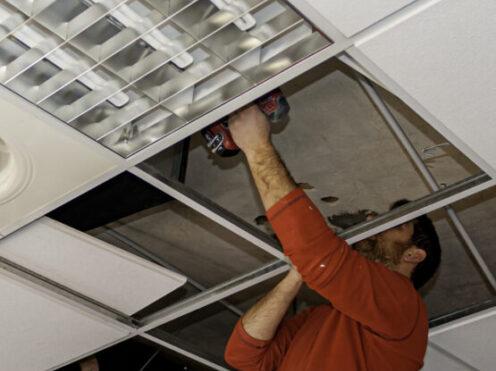 drop ceiling tile repair Chicago il